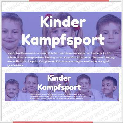 Kinder Kampfsport Partner