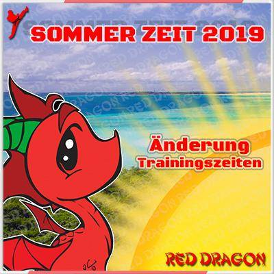 Info: Trainingspläne Sommer 2019