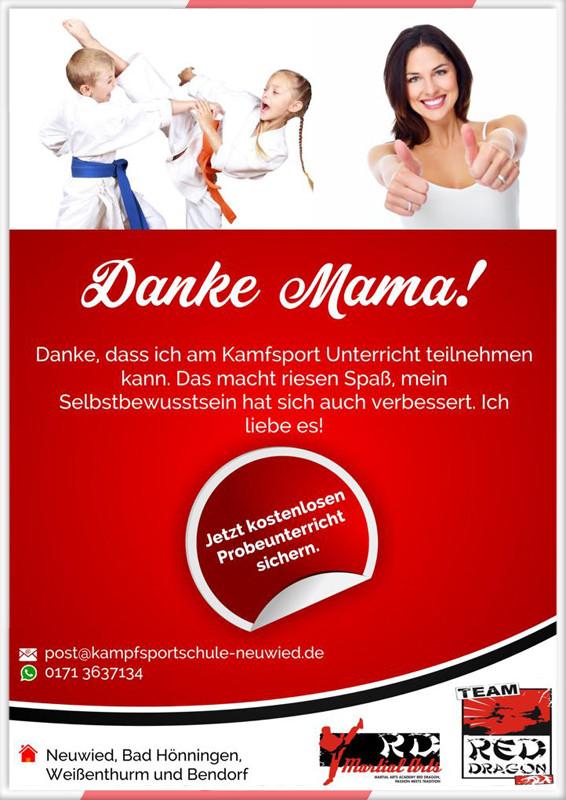 Angebote Muttertag Kampfsport
