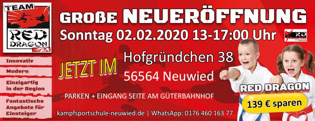 WERBEBANNER - NeuEröffnung 2020