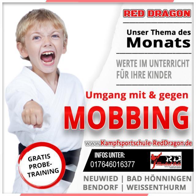 Thema November 2019 mit und gegen MOBBING
