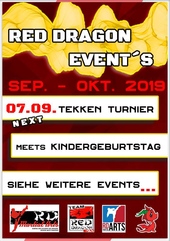 EVENTS:  Sep. – Okt. 2019 (Übersicht)